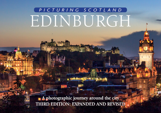 Jacket of Picturing Scotland: Edinburgh (3rd edition, Expanded and Revised)