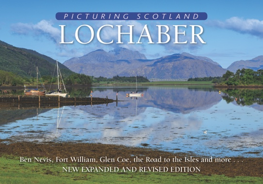 Jacket of Picturing Scotland: Lochaber (2nd edition)